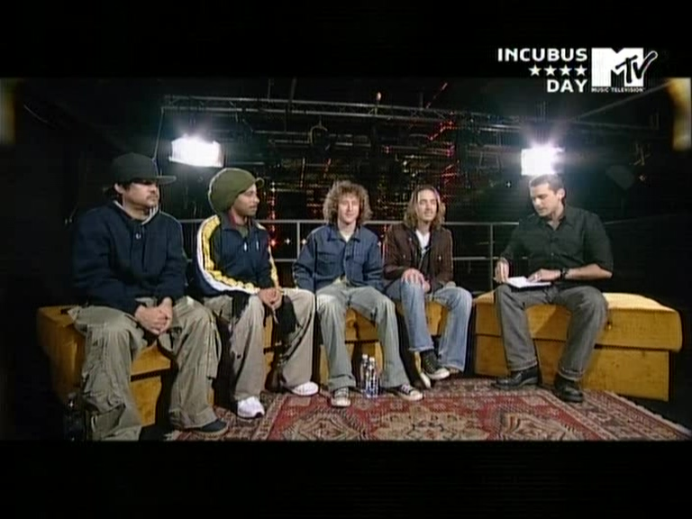 Incubus 2004-01-21 MTV Supersonic, Milan, Italy