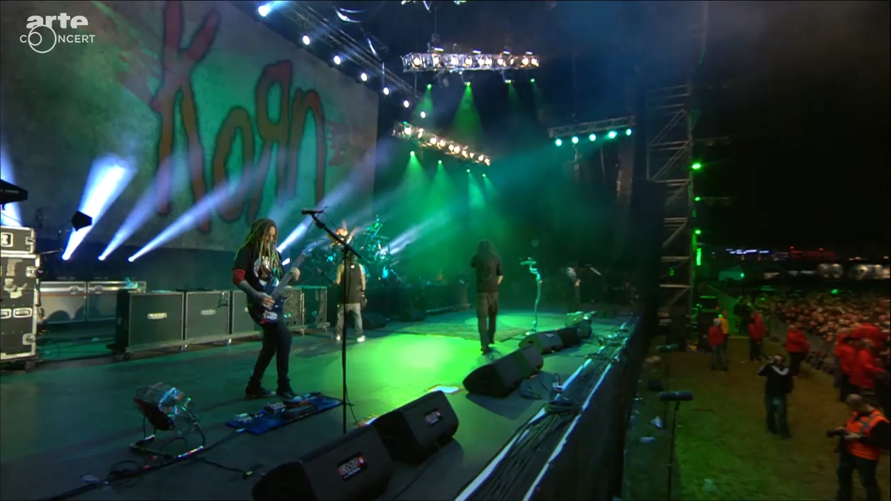 KoRn 2016-06-18 Hellfest 2016, Val de Moine, Clisson, France (Webcast HD 720)