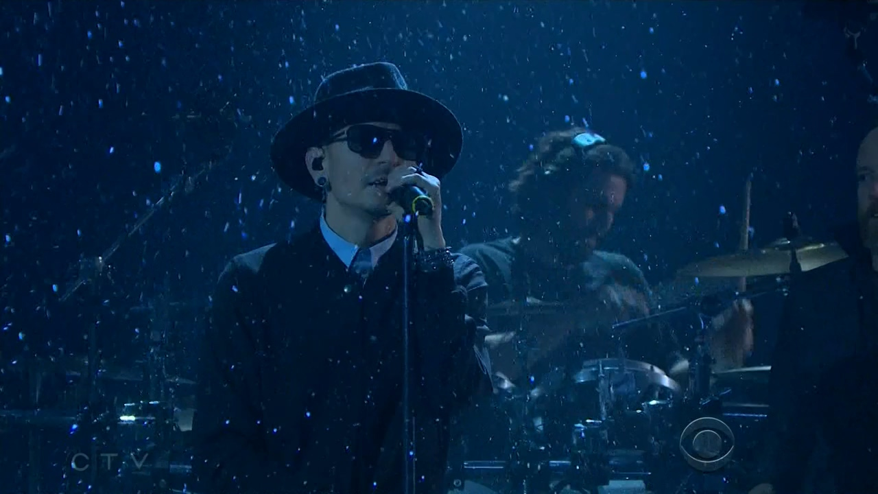 Linkin Park 2017-02-27 The Late Late Show with James Corden, Los Angeles, CA, USA (CTV HD 720)