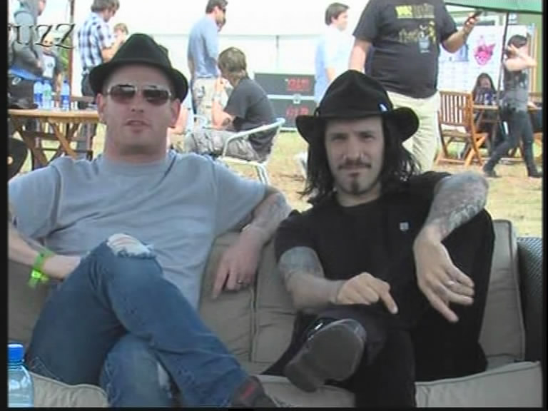 Stone Sour 2010-06-13 Download Festival, Donington, England (Scuzz TV)