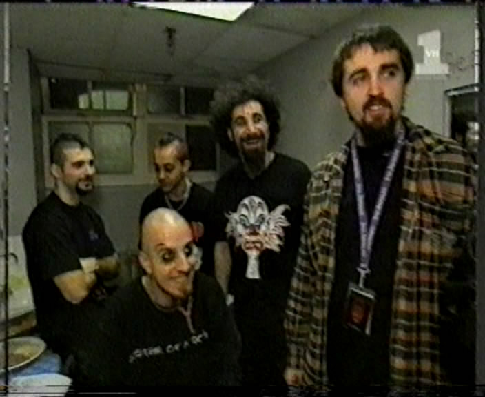 System Of A Down 1998-11-25 VH1 Friday Rock Show, Astoria, London, England