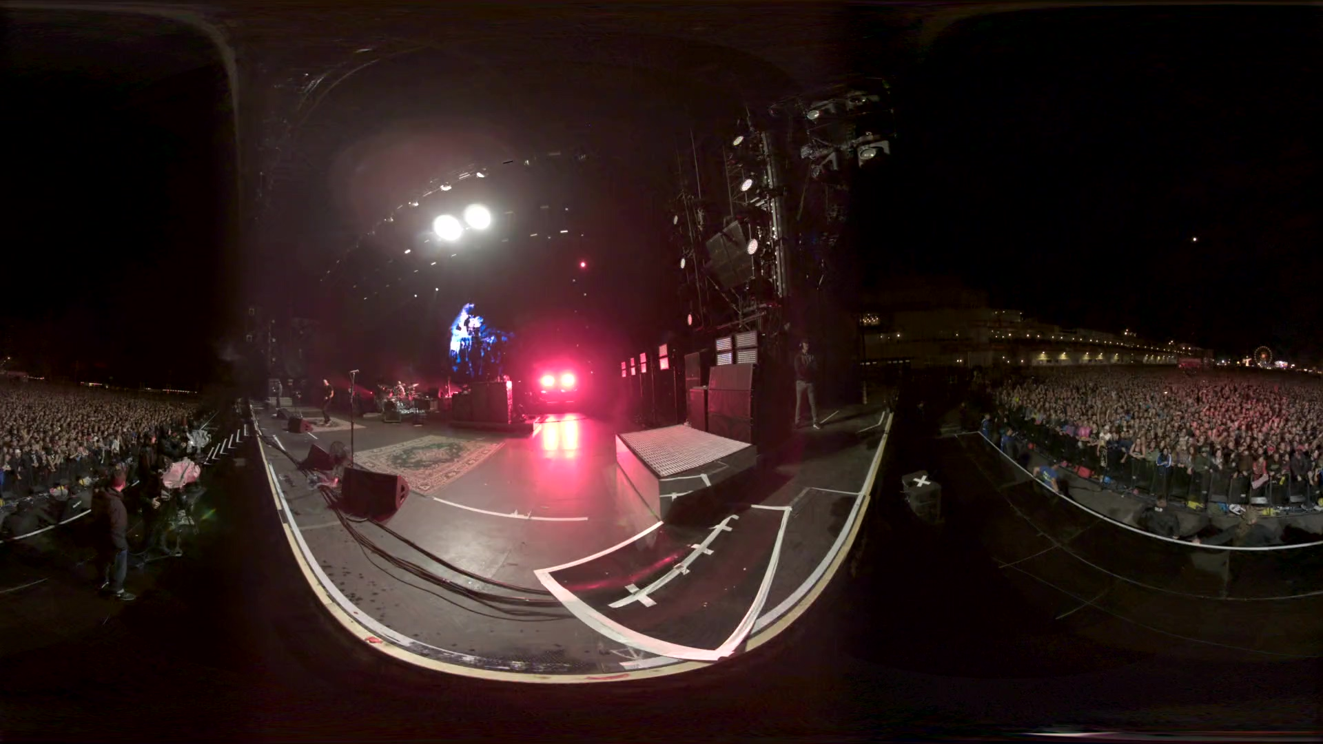 System of a Down 2017-06-04 Rock am Ring 2017, Nurburgring, Nurburg, Germany (360 degree cam)