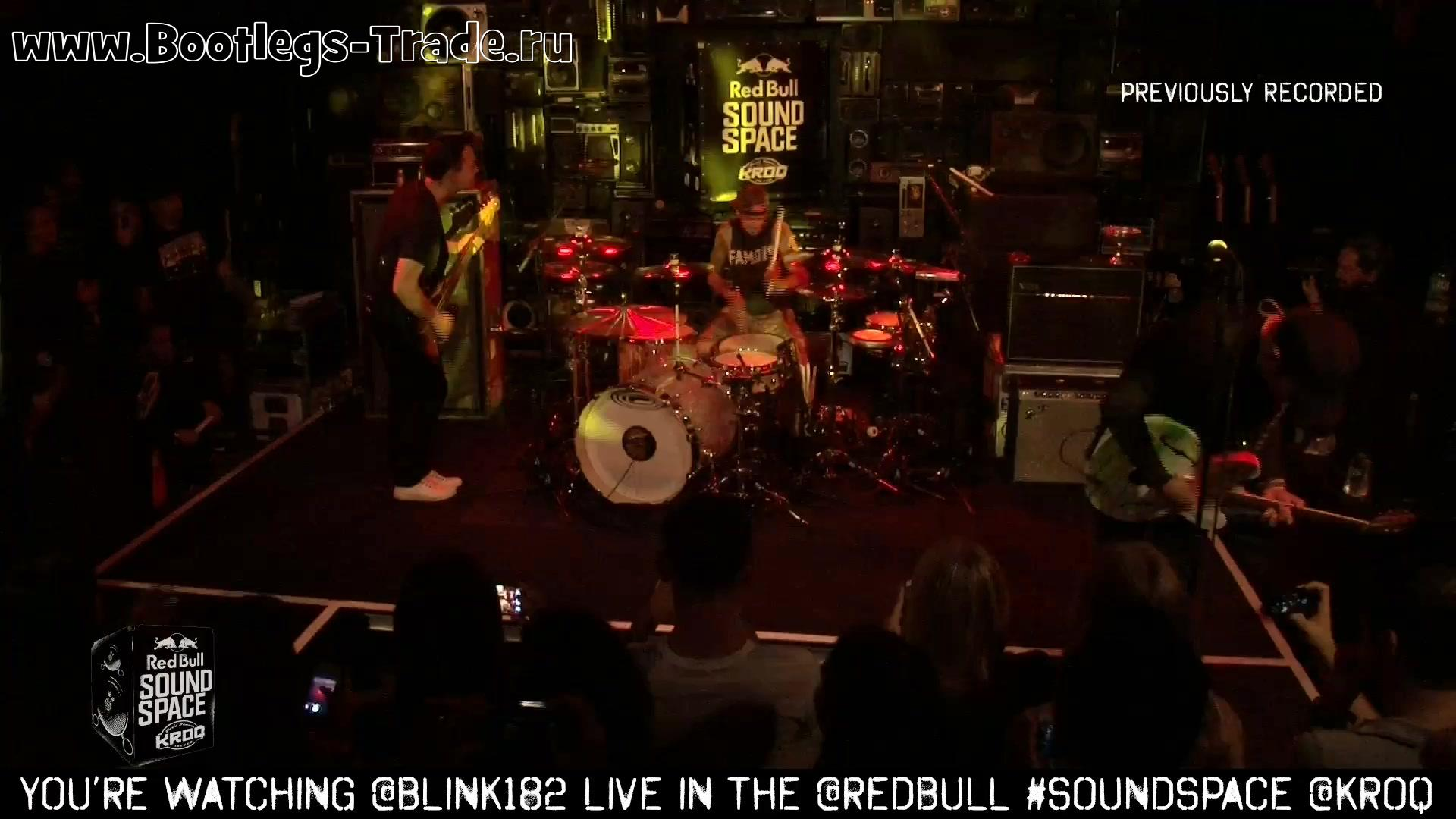 Blink 182 2013-11-07 KROQ, Red Bull Sound Space, Los Angeles, CA (Webcast HD 1080)