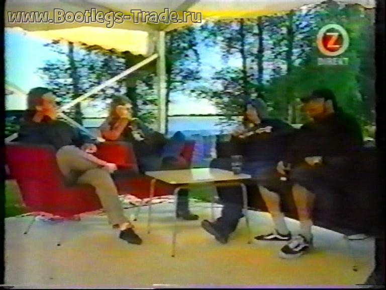 Deftones 2000-06-15 Interview Hultsfredsfestivalen 2000, Hultsfreds Hembygdspark, Hultsfred, Sweden