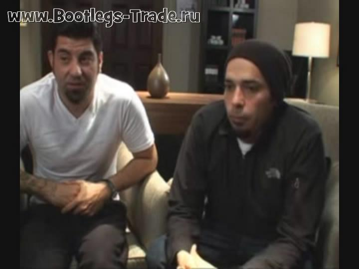 Deftones 2010-05-21 ITN Amped Interview, London, England