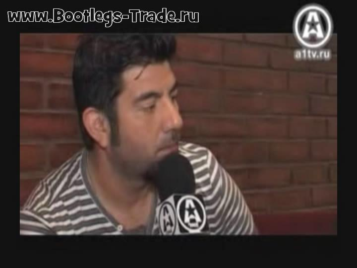 Deftones 2010-06-09 A-One News Interview, Moscow Russia