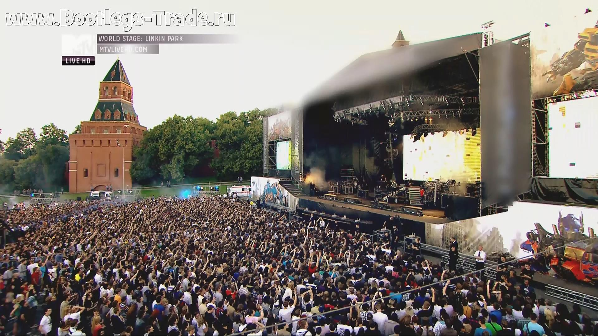 Linkin Park 2011-06-23 Red Square, Moscow, Russia (MTV Live HD 1080)