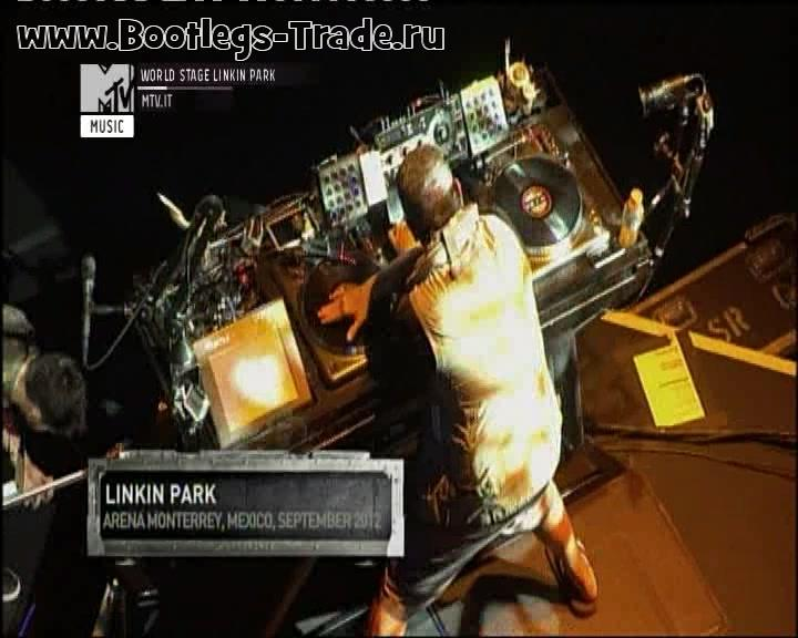 Linkin Park 2012-09-12 MTV World Stage, Monterrey, Mexico