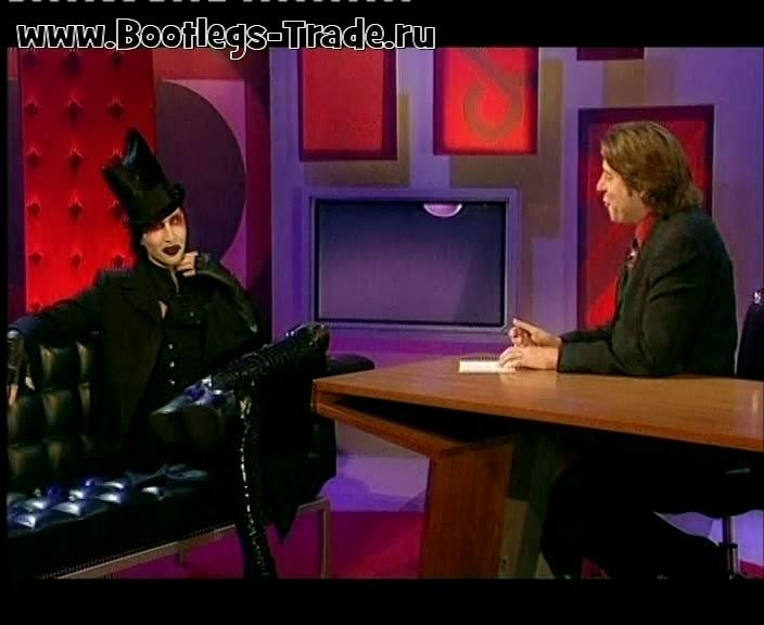 Marilyn Manson 2003-06-06 The Jonathan Ross Show, London, England