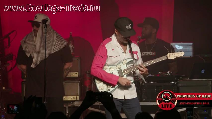 Prophets of Rage 2017-01-20 Prophets of Rage and Friends 2017, Teragram Ballroom, Los Angeles, CA, USA (Webcast 480)