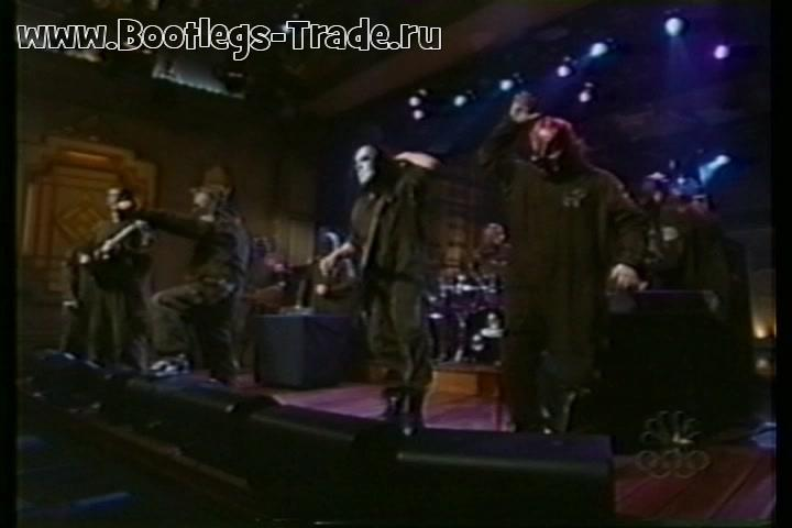 Slipknot 2001-02-10 Late Night With Conan O'Brien, New York, NY, USA