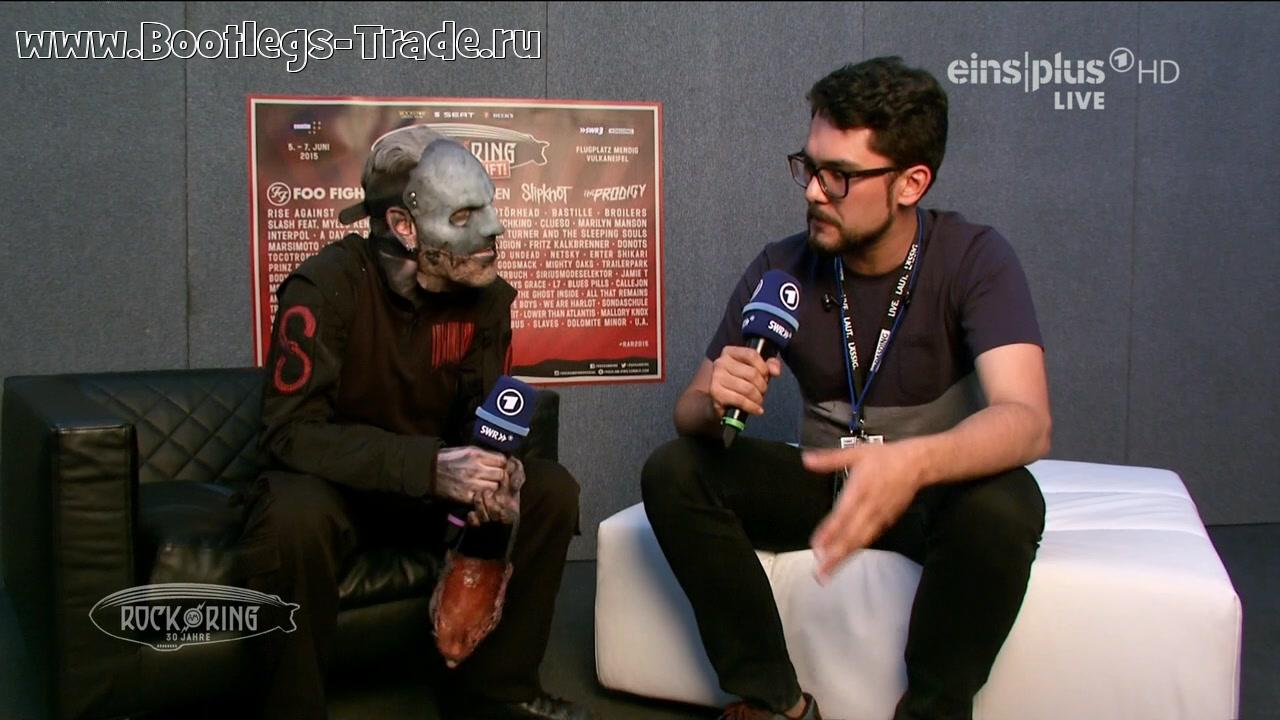 Slipknot 2015-06-07 Rock am Ring 2015, Flugplatz Mendig Vulkaneifel, Mendig, Germany (EinsPlus HD 720)