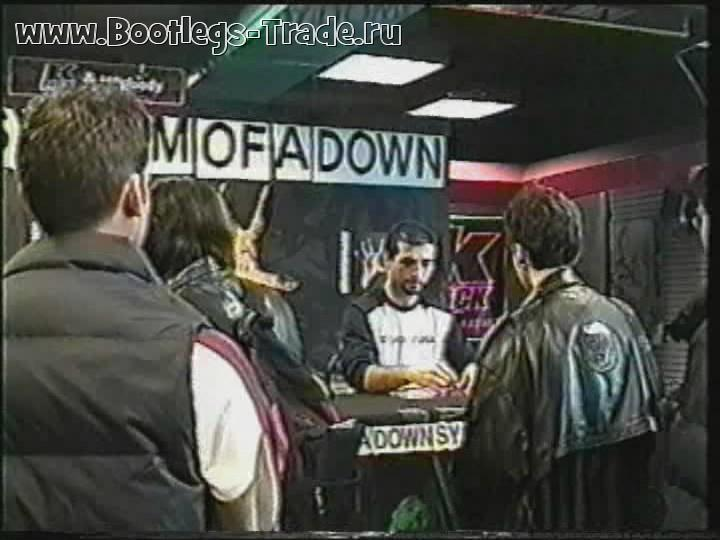System Of A Down 2000-02-23 Sam Goody Instore, New York, NY