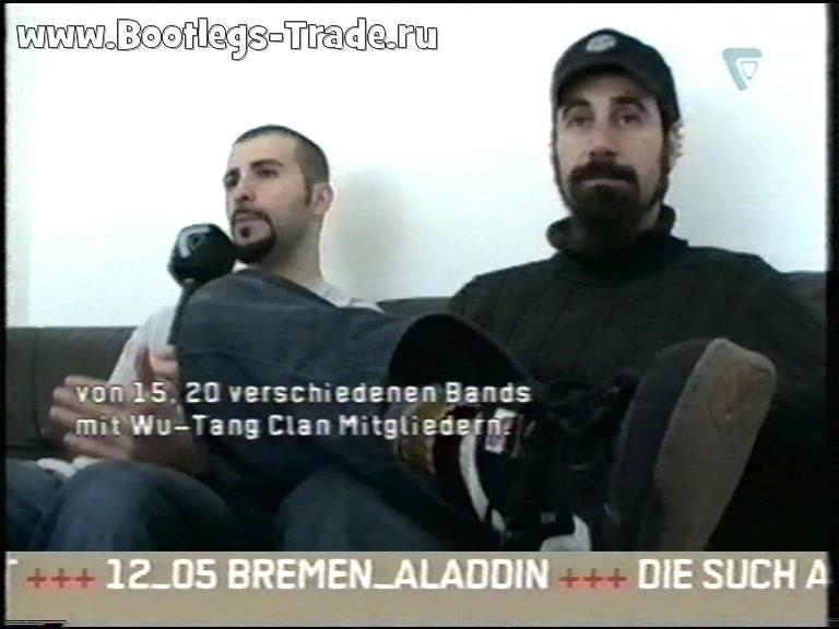 System Of A Down 2002-03-10 Stahlwerk, Dusseldorf, Germany