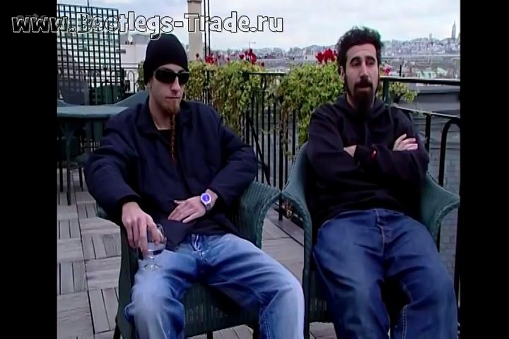 System Of A Down 2002-03-17 Le Zenith, Paris, France (arte)