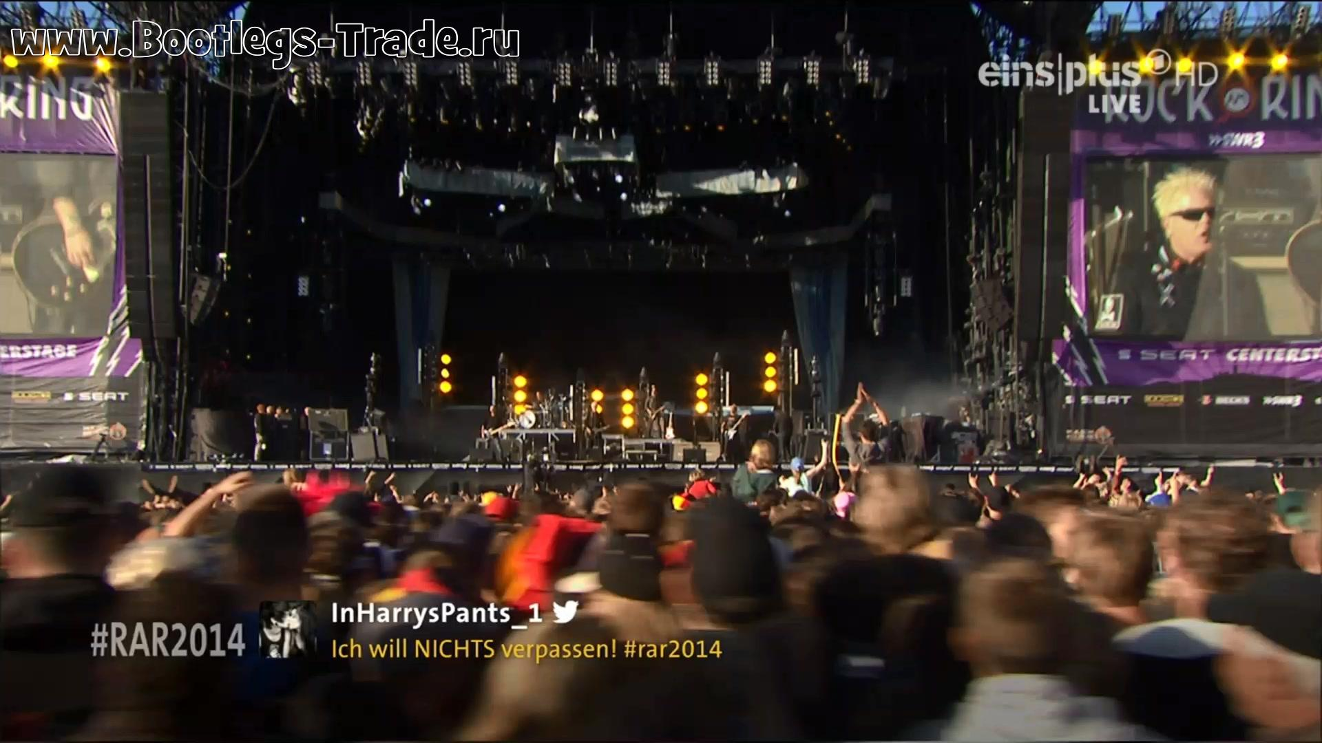 The Offspring 2014-06-05 Rock Am Ring, Nurburg, Germany (EinsPlus HD 1080)